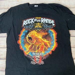 Rock On The Range 2018 Concert Shirt large